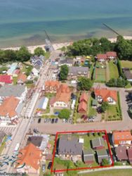 Lidex w Trzęsaczu - zdjęcia z drona