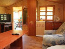 domek drewniany w Mrzeżynie