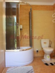 domek drewniany w Mrzeżynie - łazienka