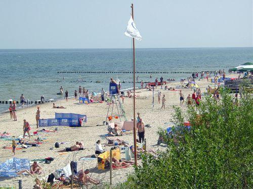 plaża 50 m od domu