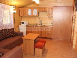 Domek drewniany wnętrze