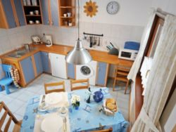 Kuchnia w domku 6 osobowym