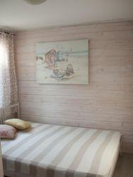 sypialnia w domku 4 osobowym