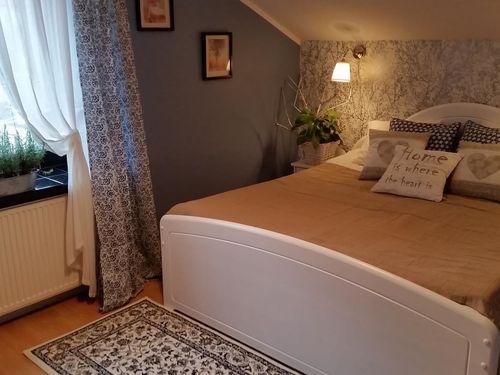 Sypialnia z apartamentu