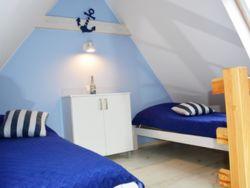 sypialnia górna w niebieskim