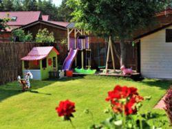 """Przytulne nowe """"Domki Familijne"""" Blisko plaży.Spokojne miejsce dla rodzin z dziećmi! Rewelacja!"""