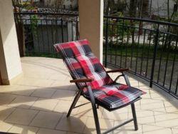 Krzesła leżakowe - balkon