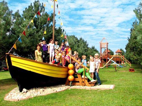 łódź dla dzieci