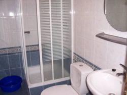 Łazienka w domkach wolnostojących.