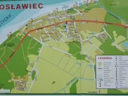 mapka poglądowa Jarosławca