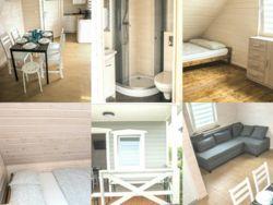 pokoje w domkach nad morzem Nadmorska Oaza