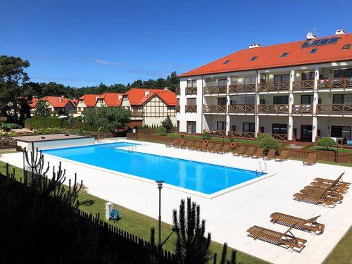 Plaza 7 - Rezydencja Nadmorska Rogowo - apartament przy plaży z basenem
